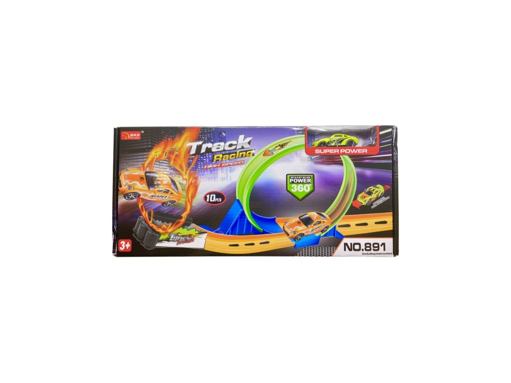 Autodráha s autíčkem Track Racing