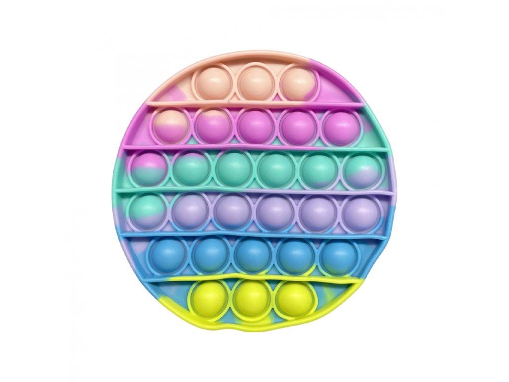 POP IT Antistresová hračka pastelový kruh