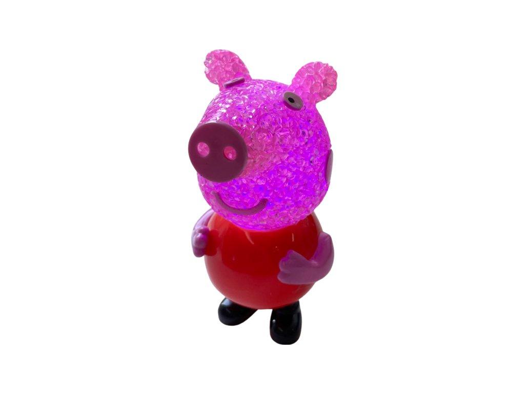 Prasátko Peppa - svítící postavička