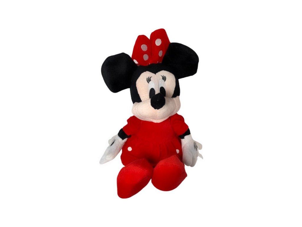 Mickey Mouse Plyšová Minnie v červeném