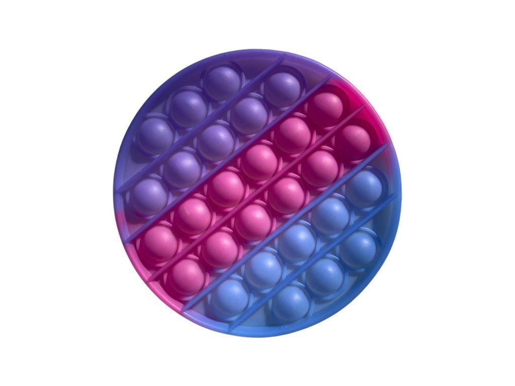 POP IT Antistresová hračka kruh svítící
