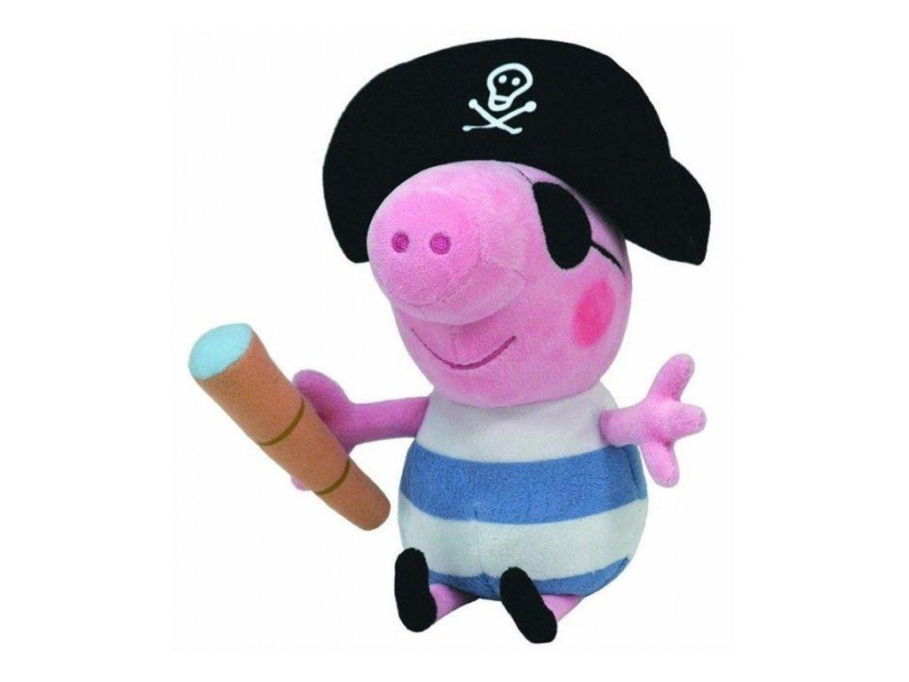 peppa pig plysovy george pirat 25 cm