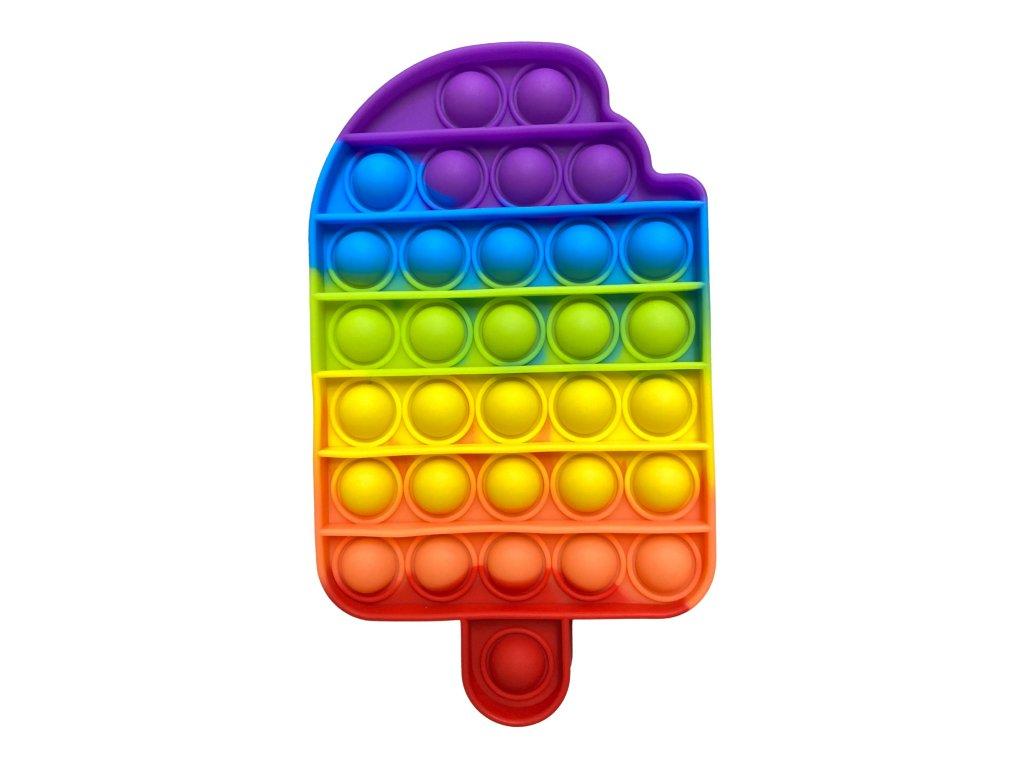 POP IT Antistresová hračka duhový nanuk