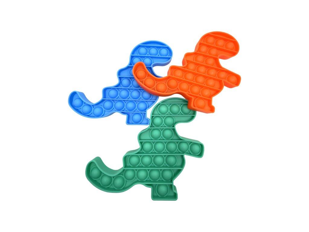 POP IT Antistresová hračka dinosaurus