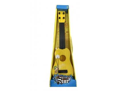 Dětská kytara Guitar Star s trsátkem