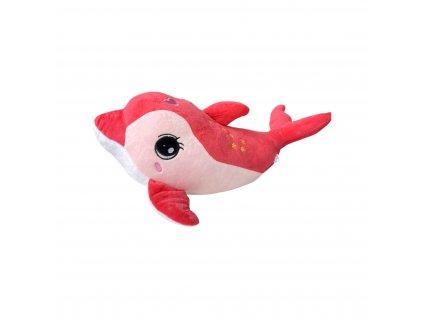 Delfín - roztomilý plyšák 46 cm