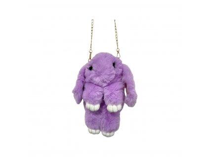 Dětská kabelka - králíček pompon