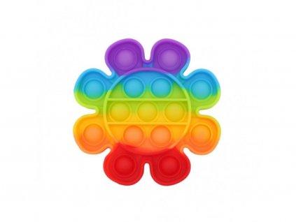 130410 bubble pop it kvetina duhova rainbow