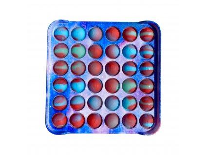 POP IT Antistresová hračka plastový čtverec marble