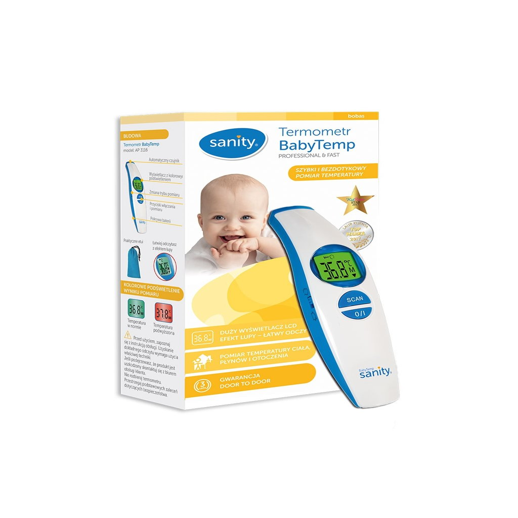 Teploměr pro děti ALBERT BabyTemp