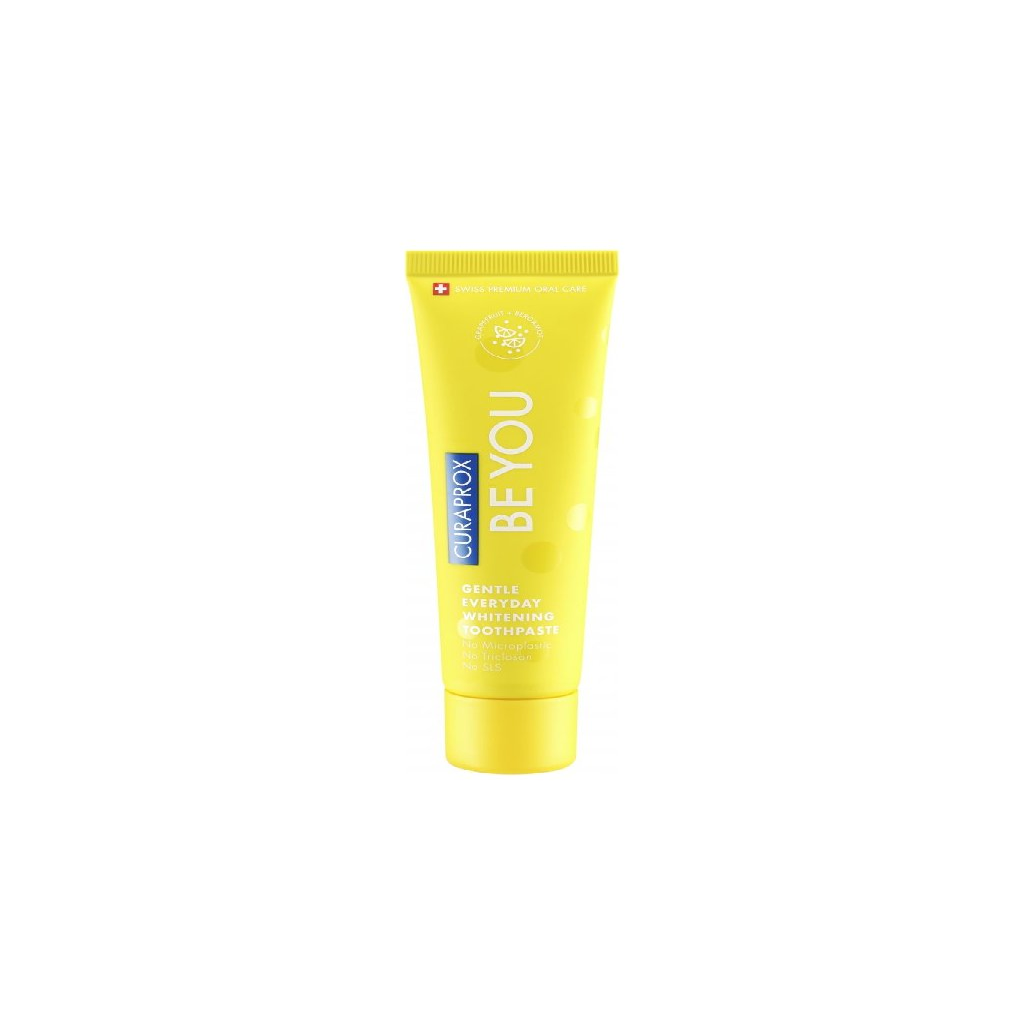 Bělicí zubní pasta - CURAPROX single Rising starr (yellow), 60 ml