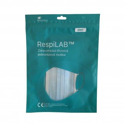 RespiLAB™ - Jednorázové zdravotnické roušky, typ I (50ks)