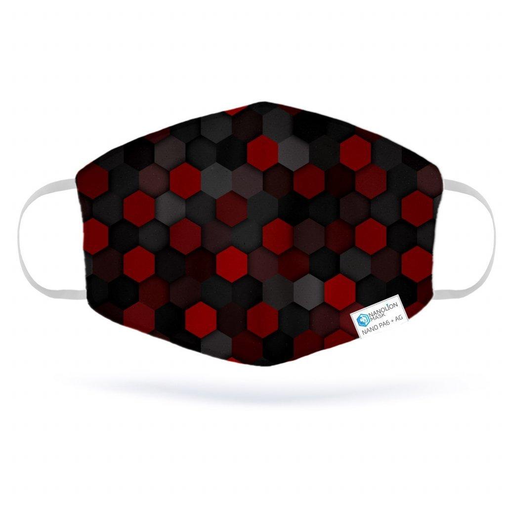 2960 dark red nano