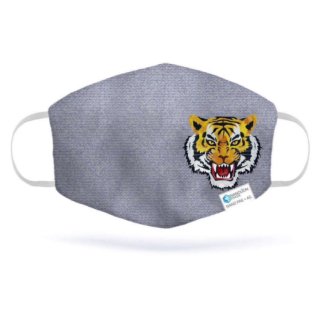 689 1 denim tiger