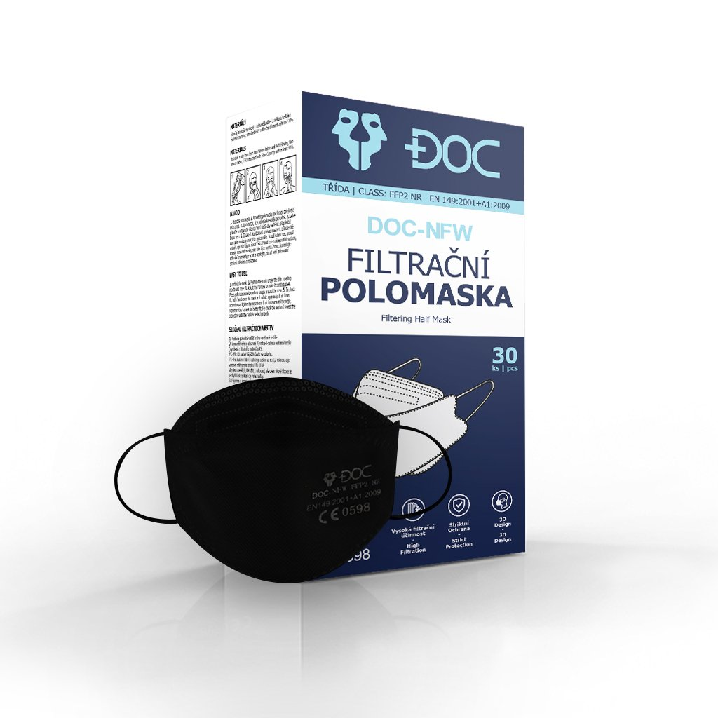 box final doc ffp2 black