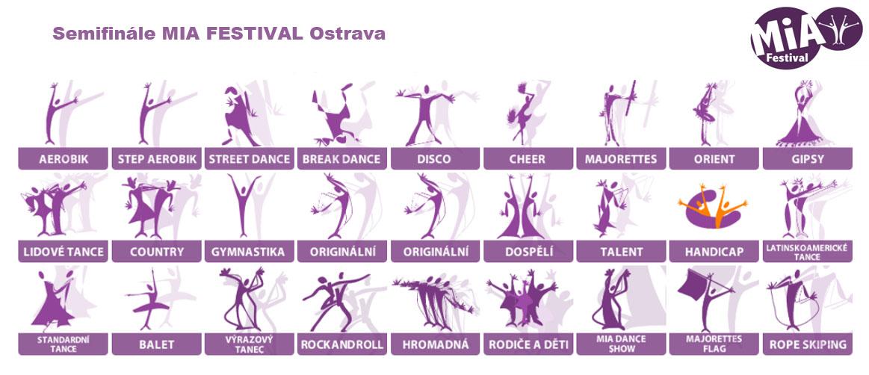 Semifinále MIA FESTIVAL Ostrava