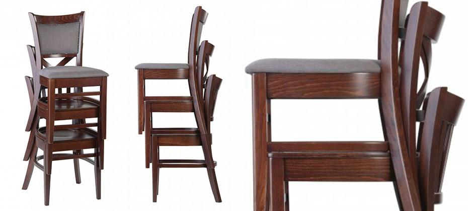 Stohovatelné židle v provozu? Neslevujte na designu
