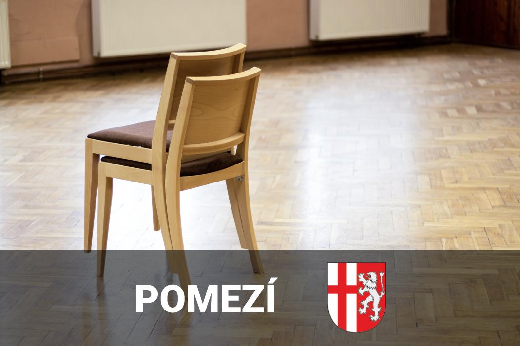 Židle a stoly do kulturního domu – Obec pomezí