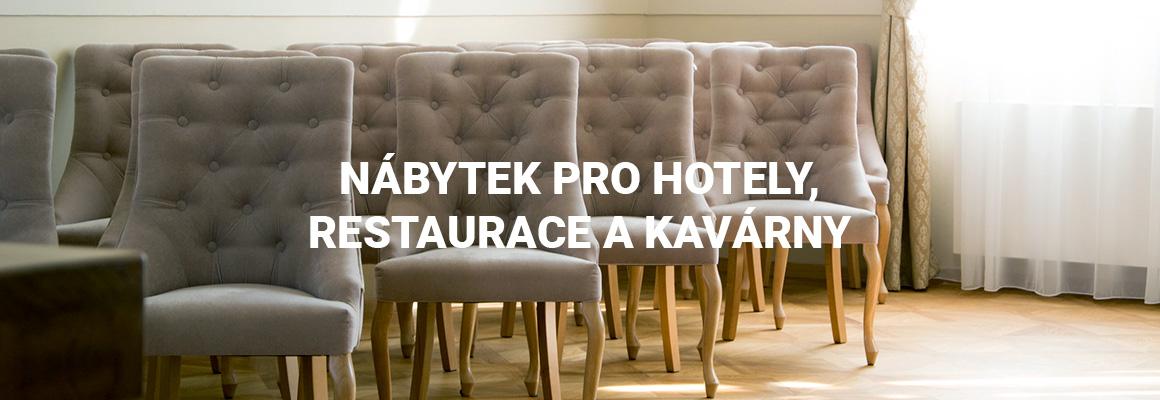 Židle, křesla, lavice na míru a barové židle do restaurací, kaváren a hotelů.
