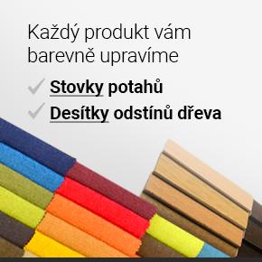 Změníme vám potah i odstín dřeva