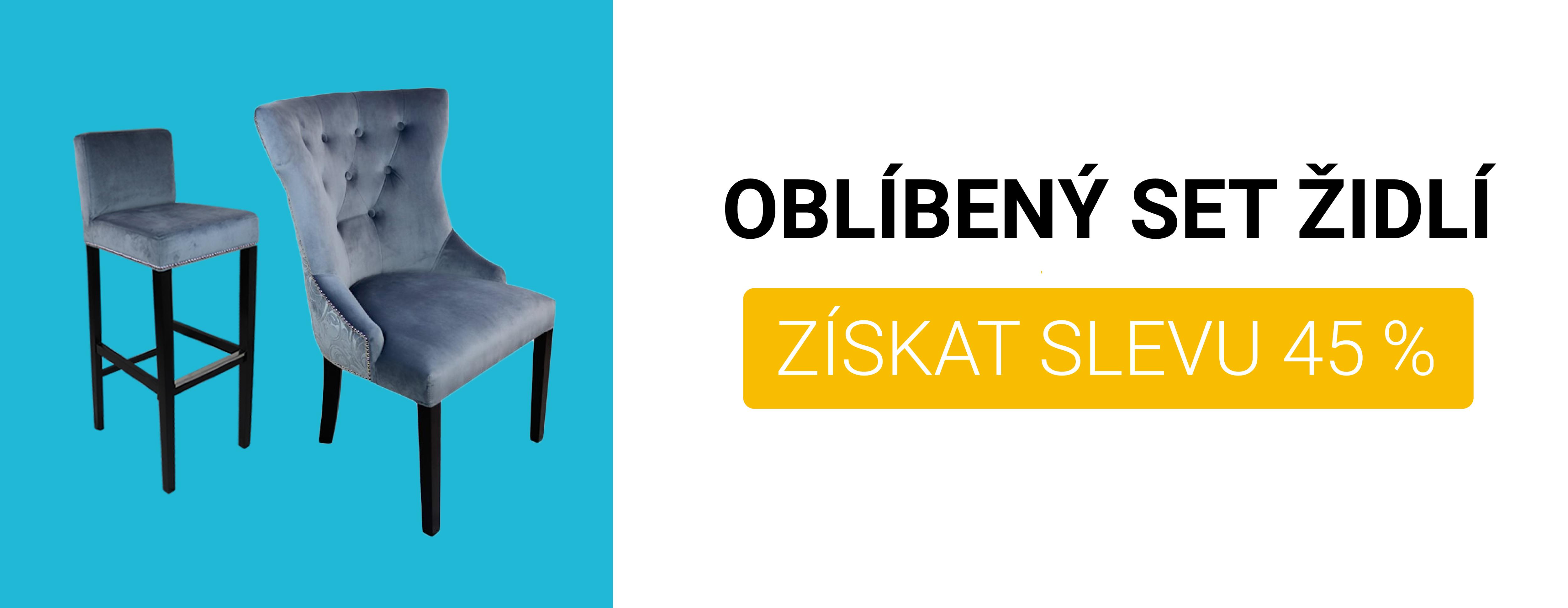 Oblíbený set židlí