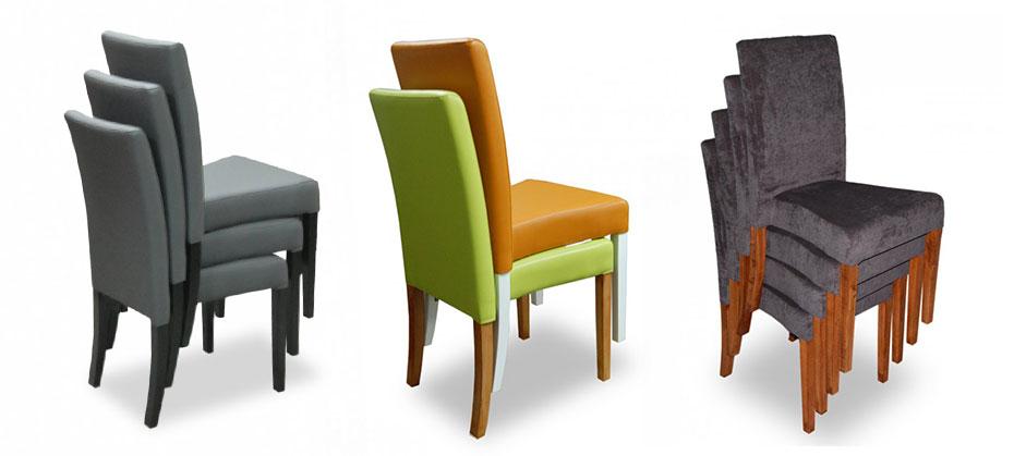 Stohovatelné židle - čalouněné | Ressed
