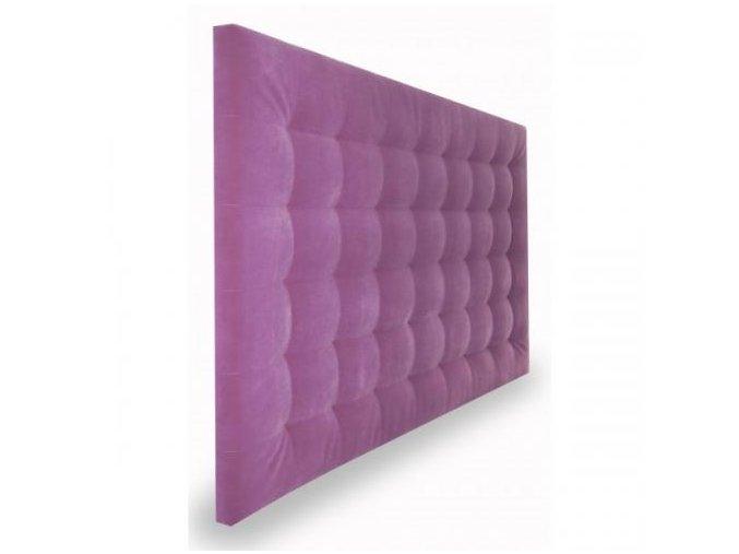 Prošívaný čalouněný panel za postel či na stěnu