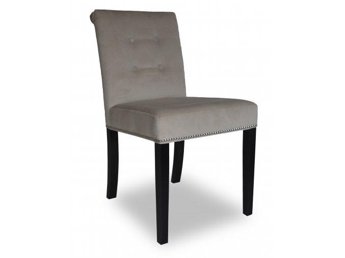 Designová židle Domi s připínáčky a knoflíky, pohodlná, restaurační