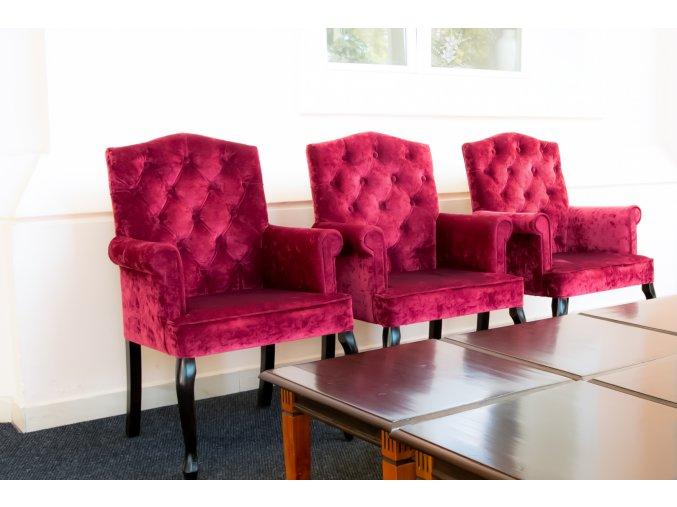 Luxusní prošité křeslo Nobles, luxus a kvalita | Ressed