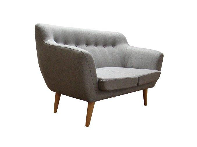 Moderní lavice Totino, kulaté nohy