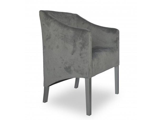 Moderní křeslo Slide se šikmým sedákem, restaurační, kavaránské