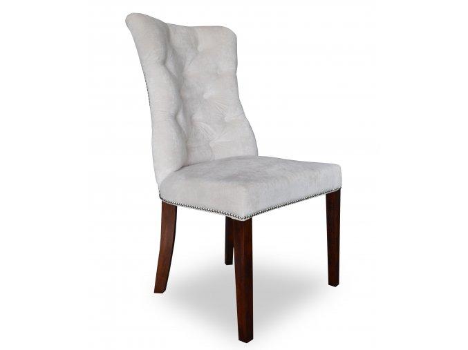 Luxusní prošitá židle Asher s klepadlem a připínáčky, vhodná do reprezentativních  salónů | Ressed