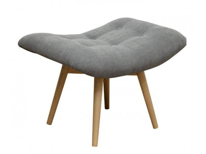 Designový taburet Arwis-OK s knoflíky