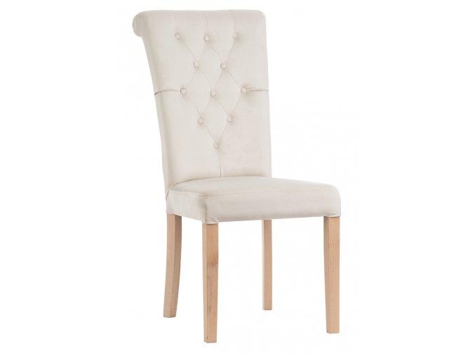 Luxusní prošitá židle Nera