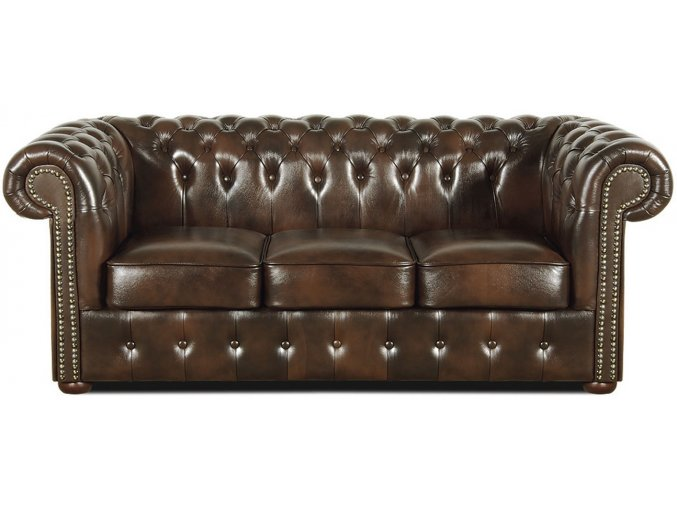 Kožená Chesterfield sedačka | Ressed