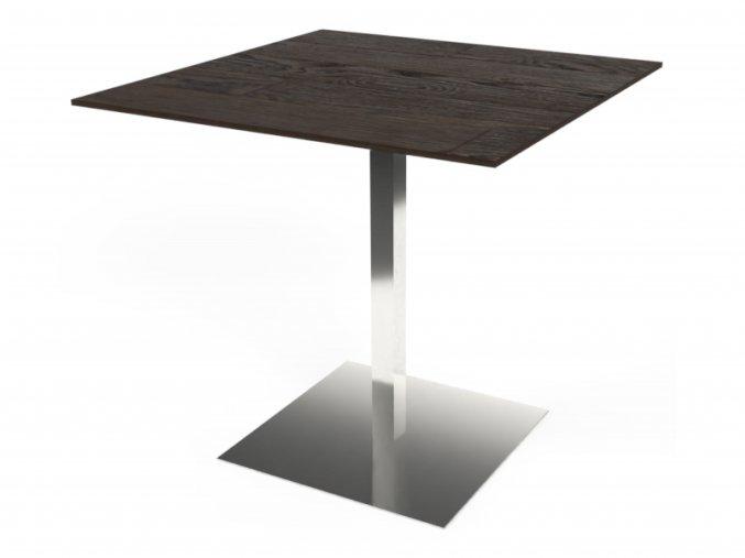 Nerezový stůl s hranatou podnoží | Ressed