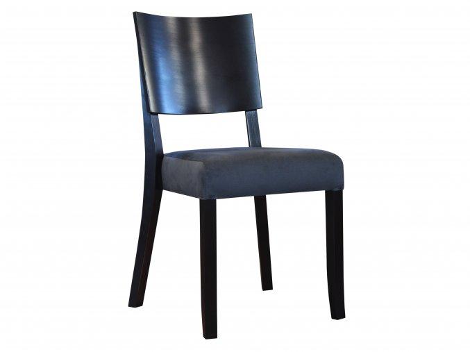 Židle s dřevěnou opěrou| Ressed