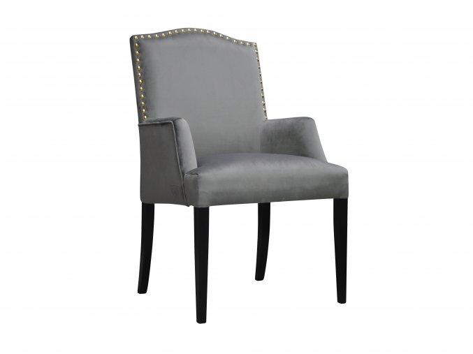 Čalouněná židle s područky | Ressed