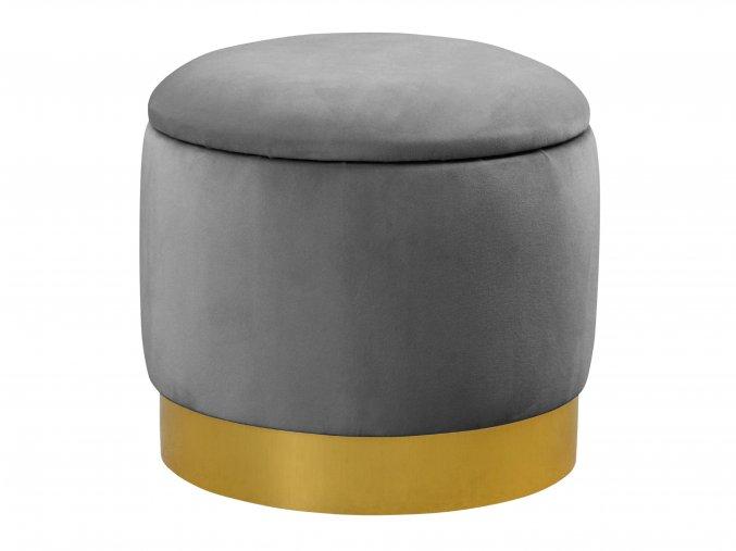 Čalouněná taburetka v jednoduchém designu | Ressed