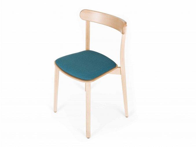buková židle s čalouněným sedákem | Ressed