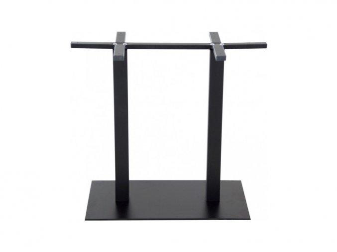 Hranatá obdélníková stolová podnož | Ressed