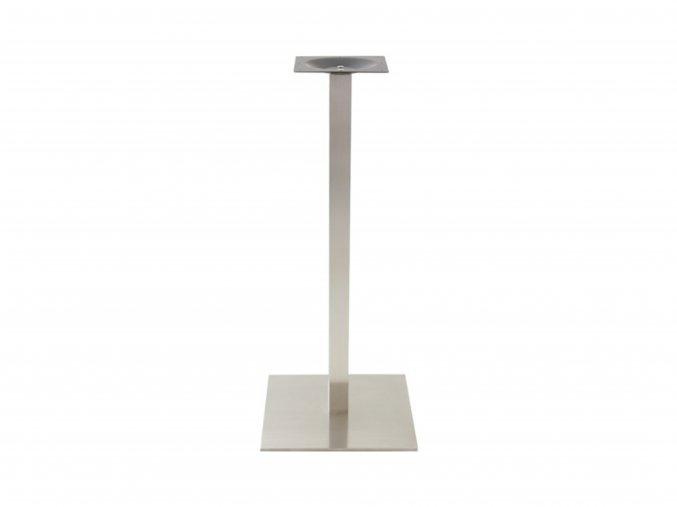 Nerezová stolová podnož s hranatou nohou | Ressed