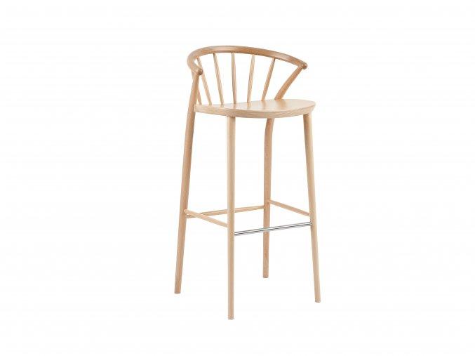 Celodřevěná barovka z bukového dřeva, dětská stolička | Ressed