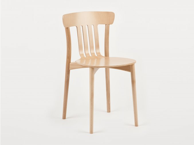 Stohovatelná dřevěná židle | Ressed