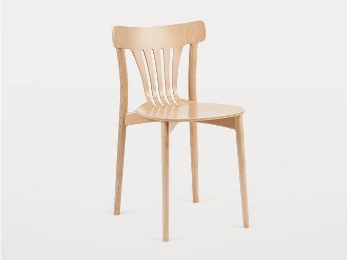 Celodřevěná prohnutá židle Dorte | Ressed