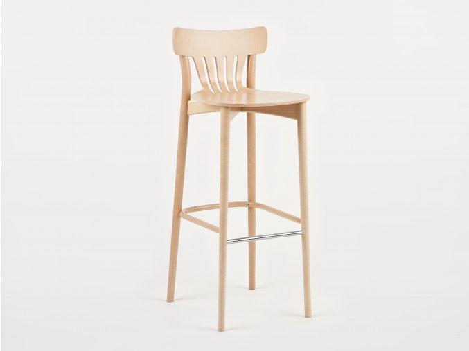 Barová židle z bukového dřeva | Ressed