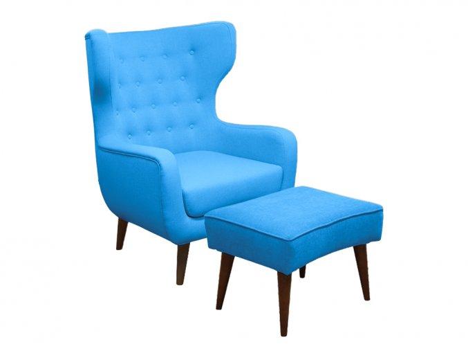 Relaxační set křesla a taburetu | Ressed