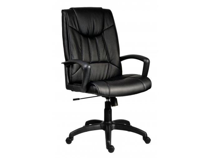 Kancelářská židle do pracoven z pravé hovězí kůže | Ressed