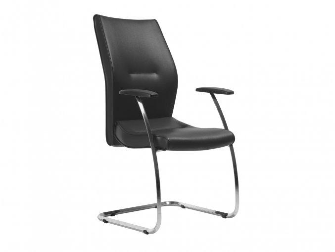 Konferenční židle s ližinovým rámem | Ressed