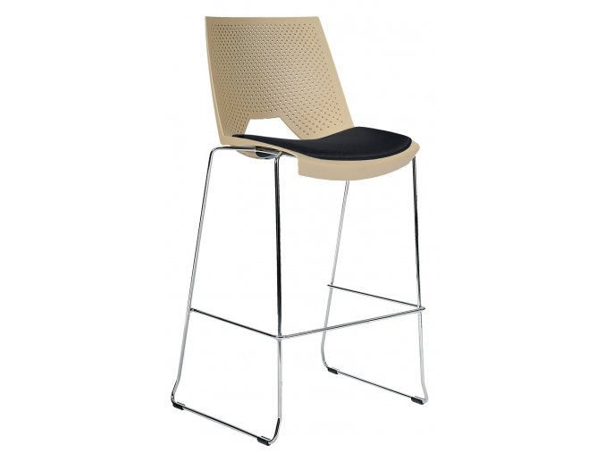 Barová židle s čalouněným sedákem | Ressed